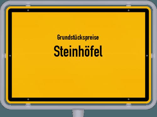 Grundstückspreise Steinhöfel 2021