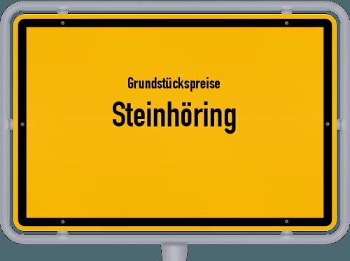 Grundstückspreise Steinhöring 2019
