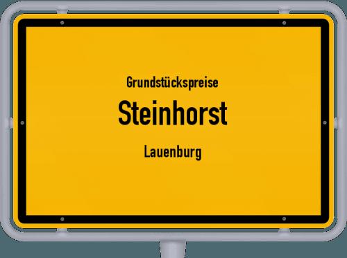 Grundstückspreise Steinhorst (Lauenburg) 2021