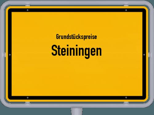 Grundstückspreise Steiningen 2019