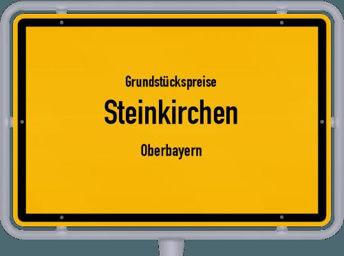 Grundstückspreise Steinkirchen (Oberbayern) 2019