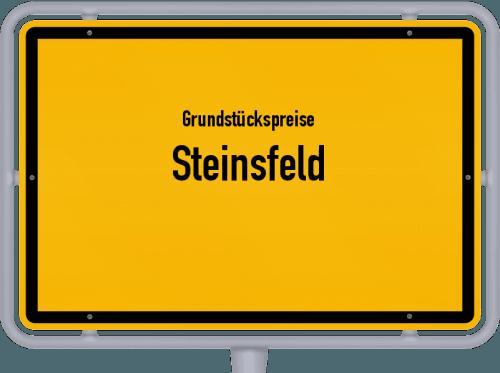 Grundstückspreise Steinsfeld 2019