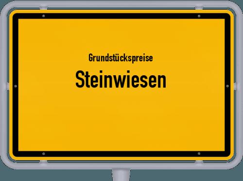 Grundstückspreise Steinwiesen 2019