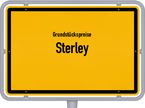Grundstückspreise Sterley 2021