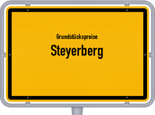 Grundstückspreise Steyerberg 2021