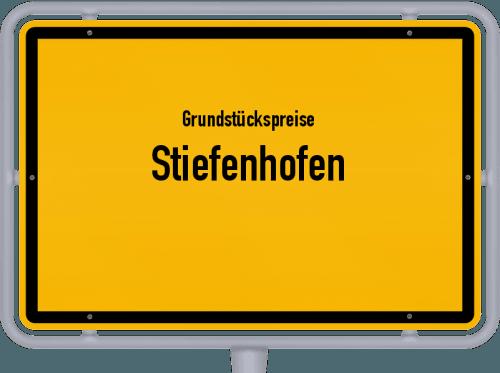 Grundstückspreise Stiefenhofen 2019
