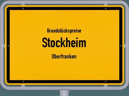 Grundstückspreise Stockheim (Oberfranken) 2019
