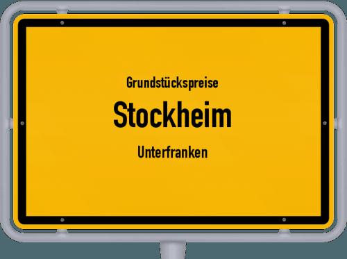 Grundstückspreise Stockheim (Unterfranken) 2019