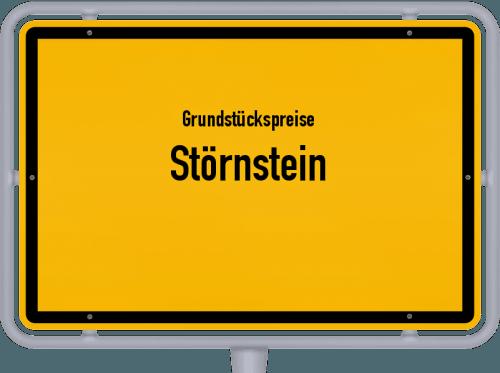 Grundstückspreise Störnstein 2019