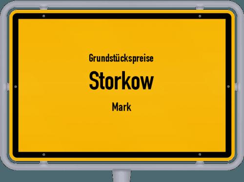 Grundstückspreise Storkow (Mark) 2021