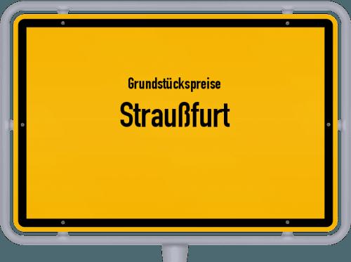 Grundstückspreise Straußfurt 2019