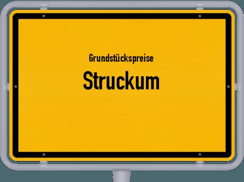 Grundstückspreise Struckum 2021