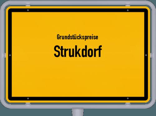 Grundstückspreise Strukdorf 2021