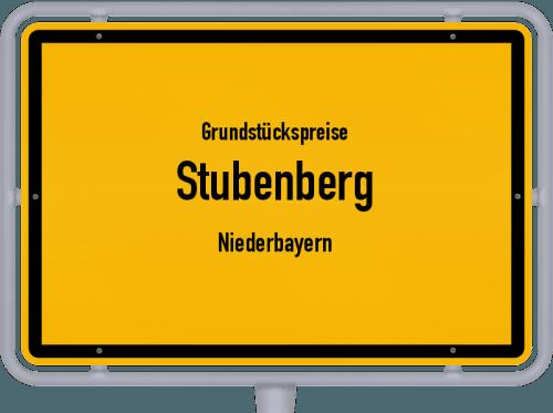 Grundstückspreise Stubenberg (Niederbayern) 2019