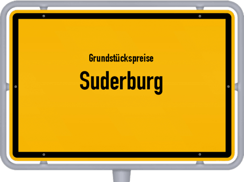 Grundstückspreise Suderburg 2019