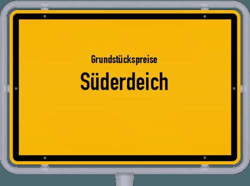 Grundstückspreise Süderdeich 2021