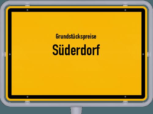 Grundstückspreise Süderdorf 2021