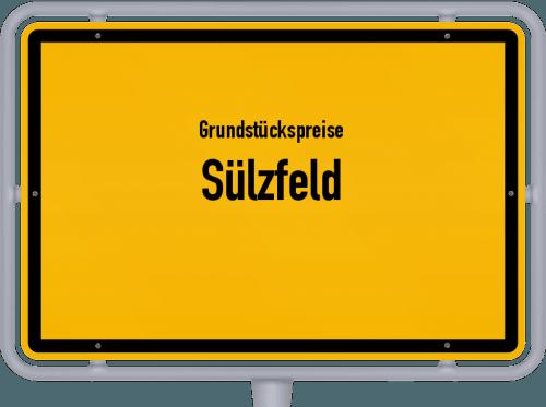 Grundstückspreise Sülzfeld 2019