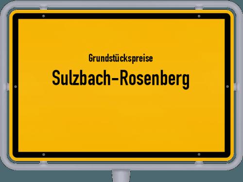 Grundstückspreise Sulzbach-Rosenberg 2019