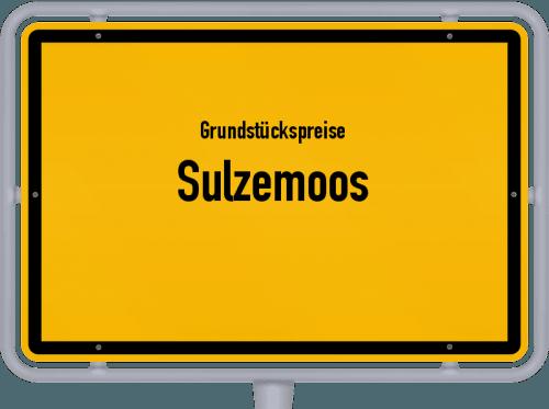 Grundstückspreise Sulzemoos 2021