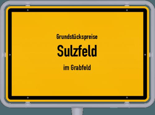 Grundstückspreise Sulzfeld (im Grabfeld) 2021