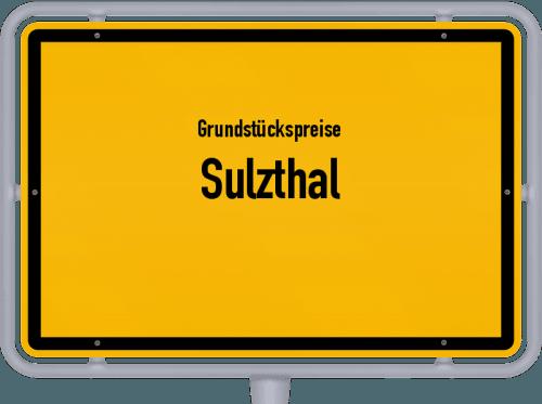 Grundstückspreise Sulzthal 2021