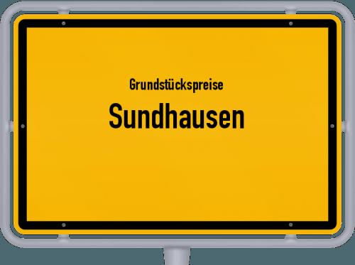 Grundstückspreise Sundhausen 2019