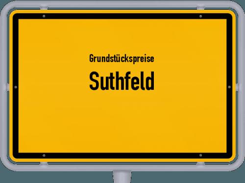 Grundstückspreise Suthfeld 2019