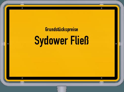 Grundstückspreise Sydower Fließ 2021