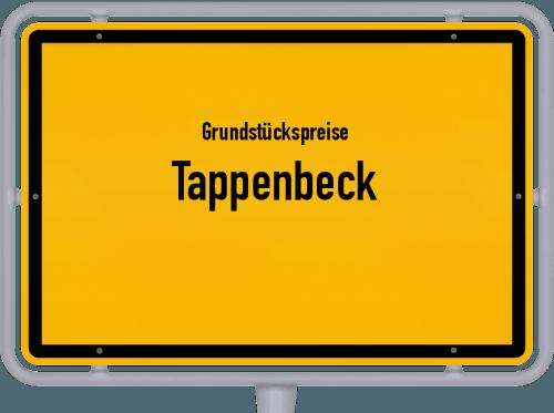 Grundstückspreise Tappenbeck 2019