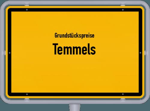 Grundstückspreise Temmels 2019