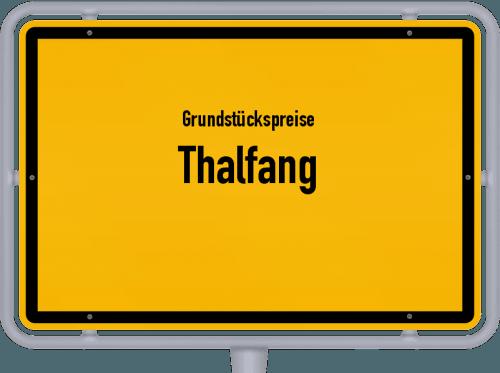 Grundstückspreise Thalfang 2019