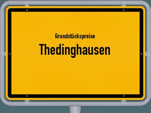 Grundstückspreise Thedinghausen 2021