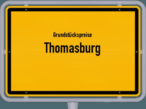 Grundstückspreise Thomasburg 2021