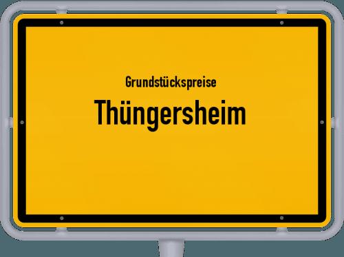 Grundstückspreise Thüngersheim 2021