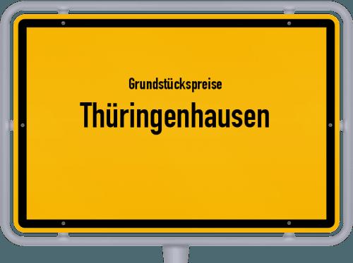 Grundstückspreise Thüringenhausen 2019