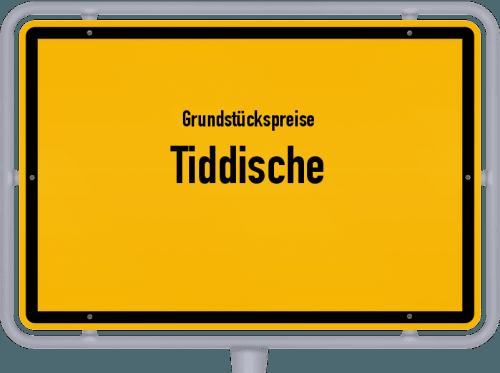 Grundstückspreise Tiddische 2021