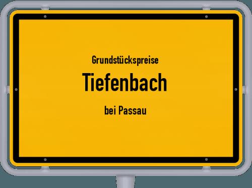 Grundstückspreise Tiefenbach (bei Passau) 2021