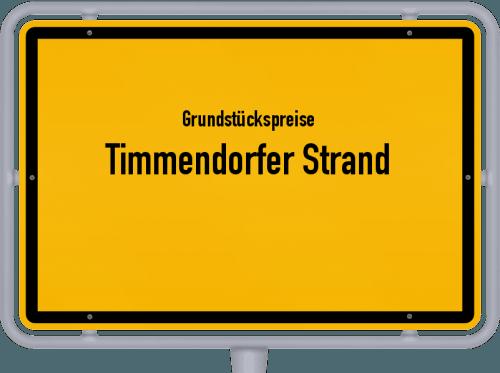 Grundstückspreise Timmendorfer Strand 2021