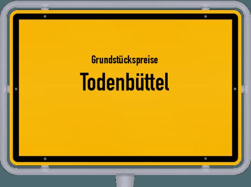 Grundstückspreise Todenbüttel 2021
