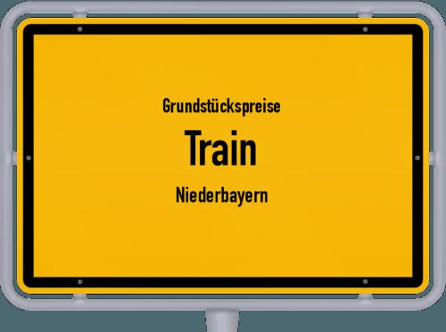 Grundstückspreise Train (Niederbayern) 2019