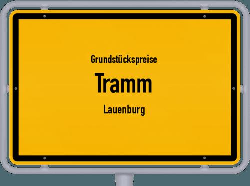 Grundstückspreise Tramm (Lauenburg) 2021