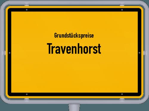 Grundstückspreise Travenhorst 2021