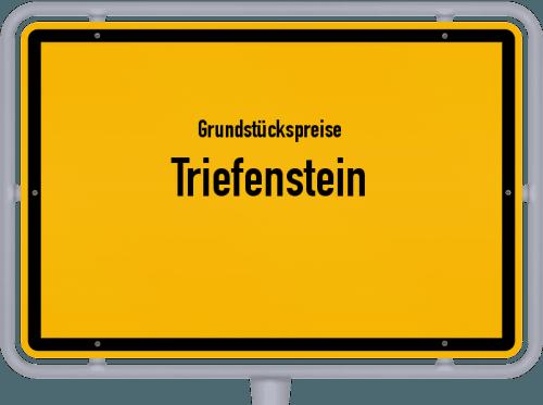 Grundstückspreise Triefenstein 2021