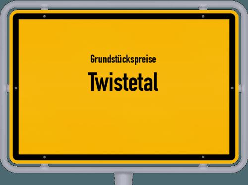 Grundstückspreise Twistetal 2019