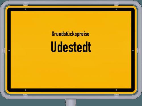 Grundstückspreise Udestedt 2019
