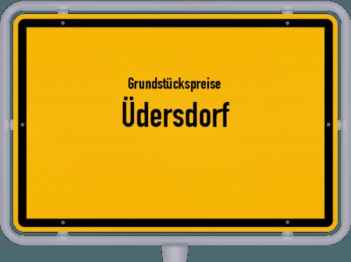 Grundstückspreise Üdersdorf 2019