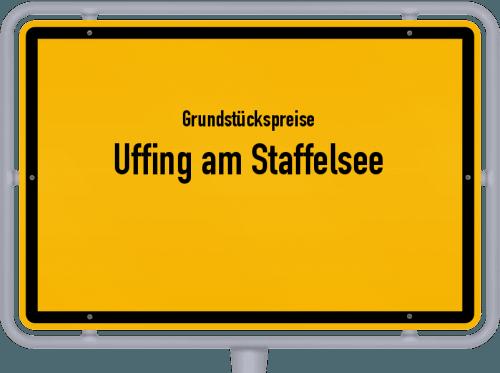 Grundstückspreise Uffing am Staffelsee 2019