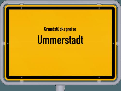 Grundstückspreise Ummerstadt 2019