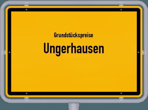 Grundstückspreise Ungerhausen 2021